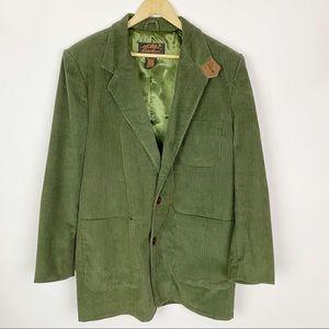 EDDIE BAUER Corduroy Elbow Patch Blazer Jacket